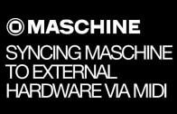 Using Maschine with External Hardware via MIDI Sync