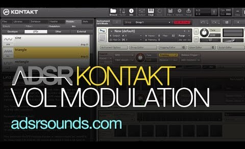 Using Modulation To Control Volume In Kontakt