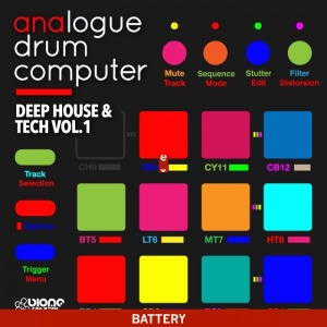 Deep House & Tech Vol.1 Battery