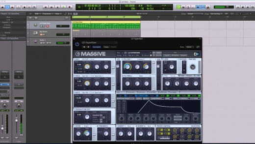 Gated Reverb Effect In Massive
