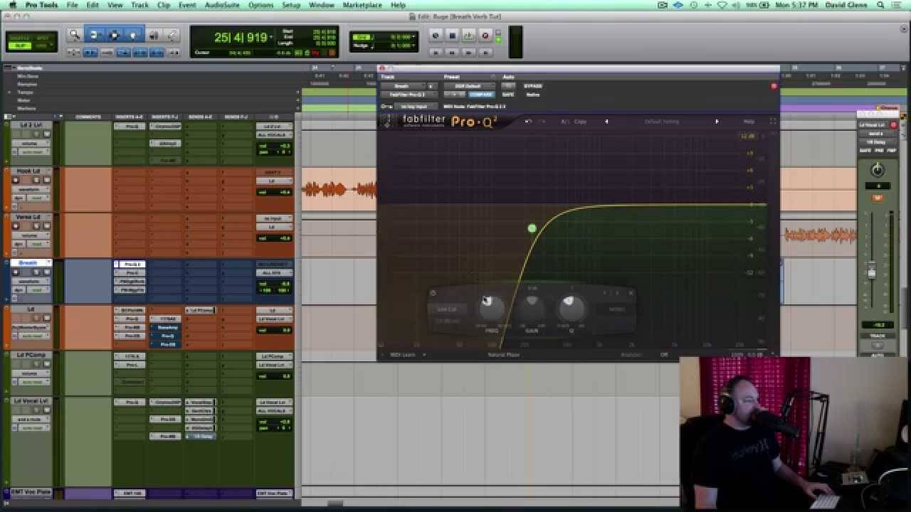 Get Creative with Effects for Vocal Breaths in a Mix