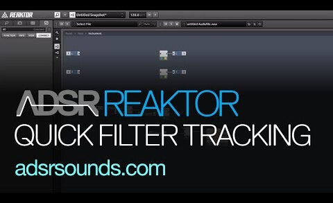 Implement Filter Tracking in under 2 mins with Reaktor