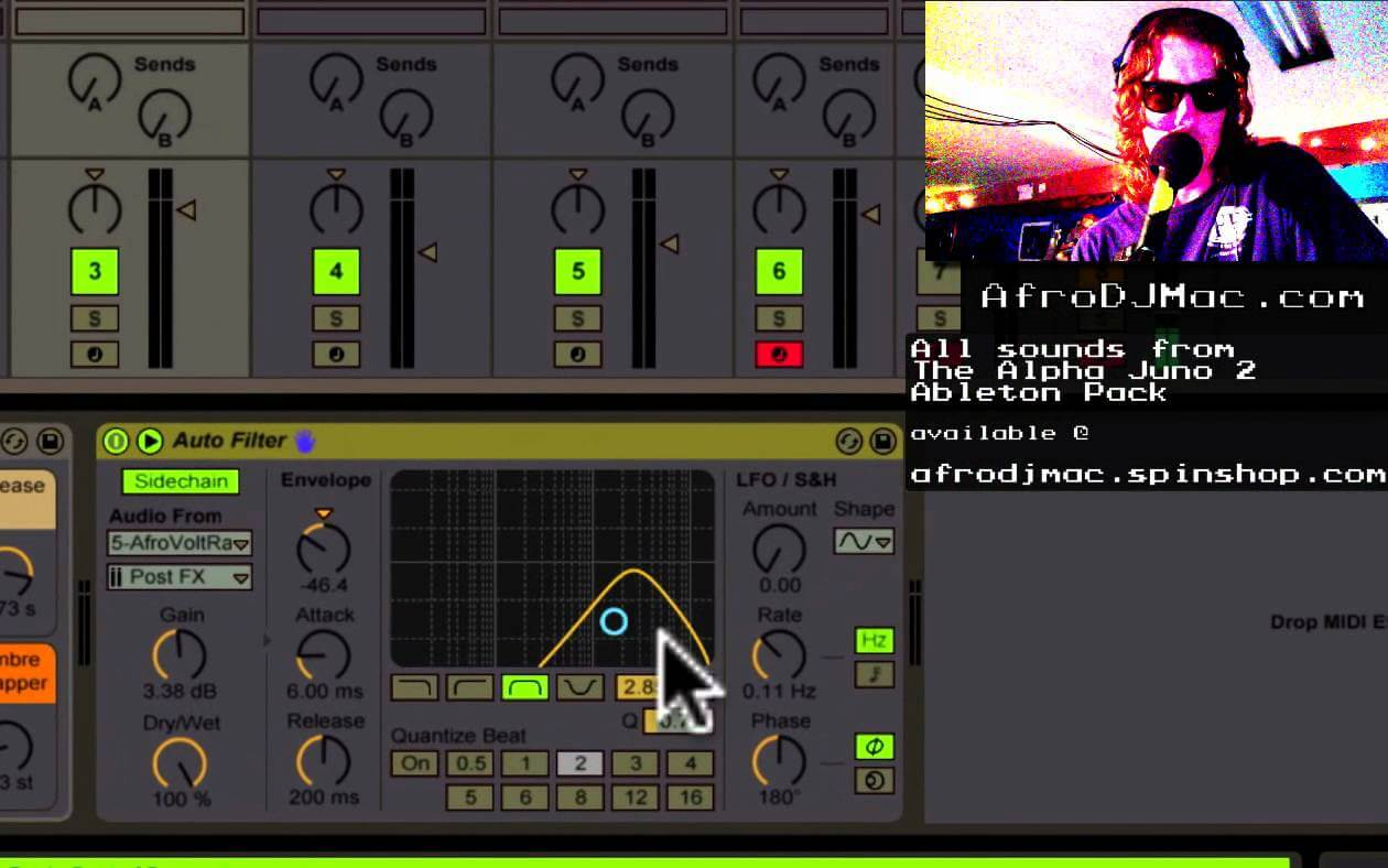 SideChaining Ableton Live's AutoFilter: Two Minute Ableton Tip
