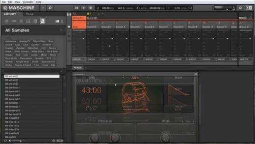 Sub Kick Sound Design In Maschine