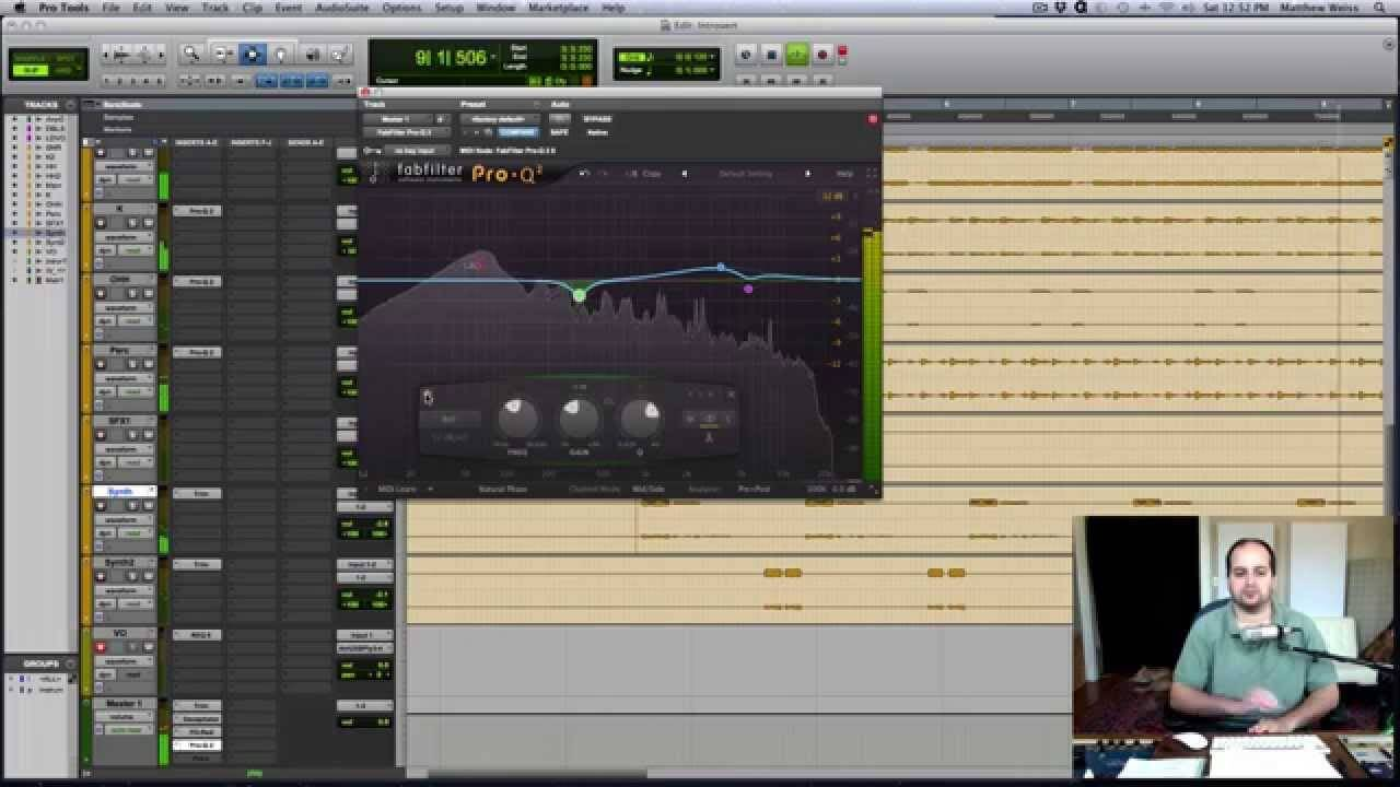 Tips for EQ'ing the Stereo Buss