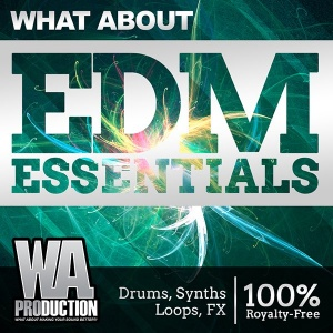 600W. A. Production - What About EDM Essentials Cover copy