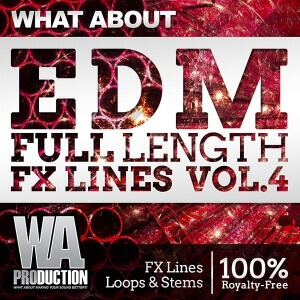 600W. A. Production - What About EDM Full Length FX Lines Cover copy