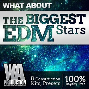600W. A. Production - What About The Biggest EDM Stars Cover copy
