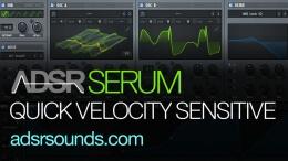 How To Make Serum Velocity Sensitive