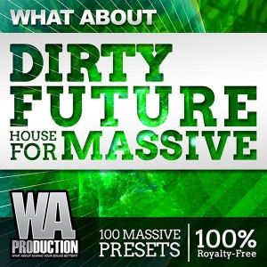 600W. A. Production - What About Dirty Future House For Massive Cover copy