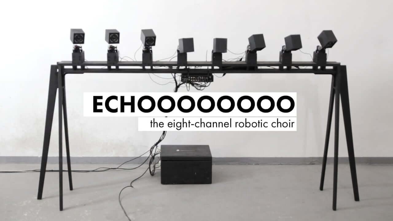 Eight-channel Robotic Choir