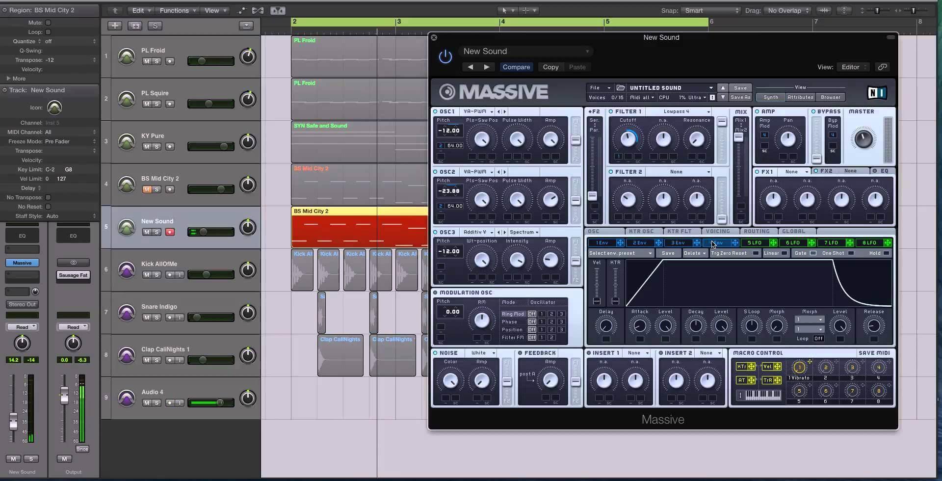 Indie Dance Bass (Moog Feel)