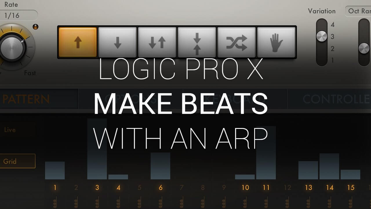 Making Beats With An Arp In Logic Pro X