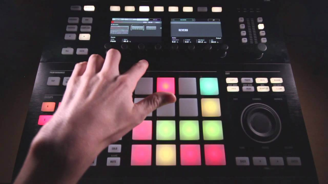 Mixing Tips for Wide, Full Drums In Maschine