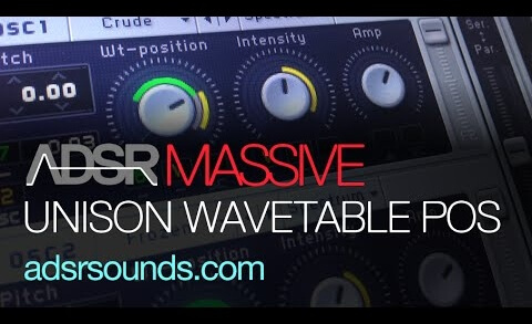 Unison Wavetable Position in NI Massive