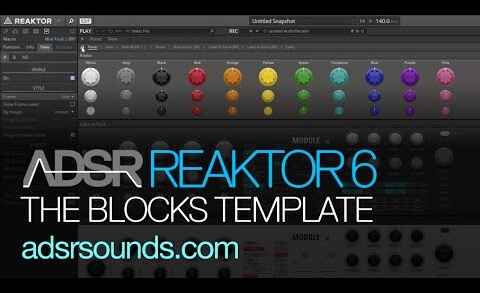 Reaktor 6 Blocks pt 4 – Intro to building using the Blocks Template