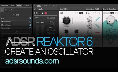 Reaktor 6 Blocks pt 5 – Create an Oscillator in the Blocks Framework, Part I