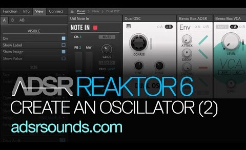 Reaktor 6 Blocks pt 6 – Create an Oscillator in the Blocks Framework, Part II