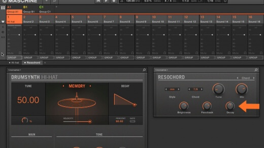 Using MASCHINE Drum Synths to make Techno Stabs – With Mike Huckaby