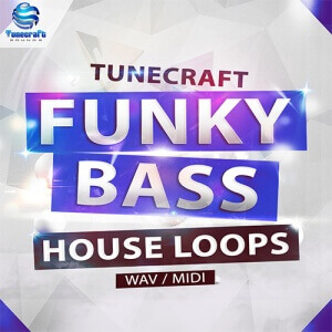 Tunecraft Funky Bass House Loops 500x500