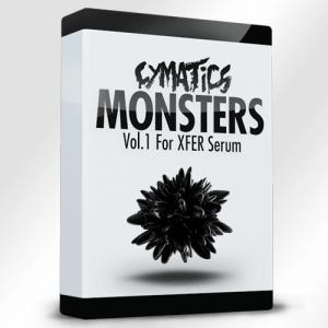 Monsters Vol. 1 for Xfer Serum