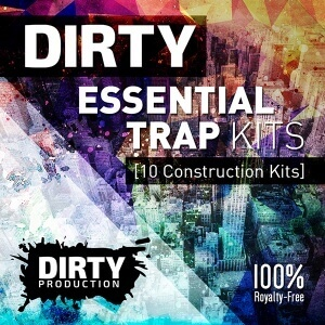 600Dirty Production - Dirty Essential Trap Kits Cover