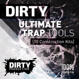 600Dirty Production - Dirty Ultimate Trap Tools Cover
