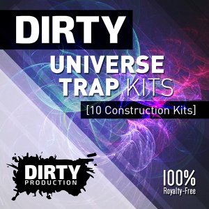 600Dirty Production - Dirty Universe Trap Kits Cover