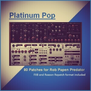 Predator Platinum Pop Cover