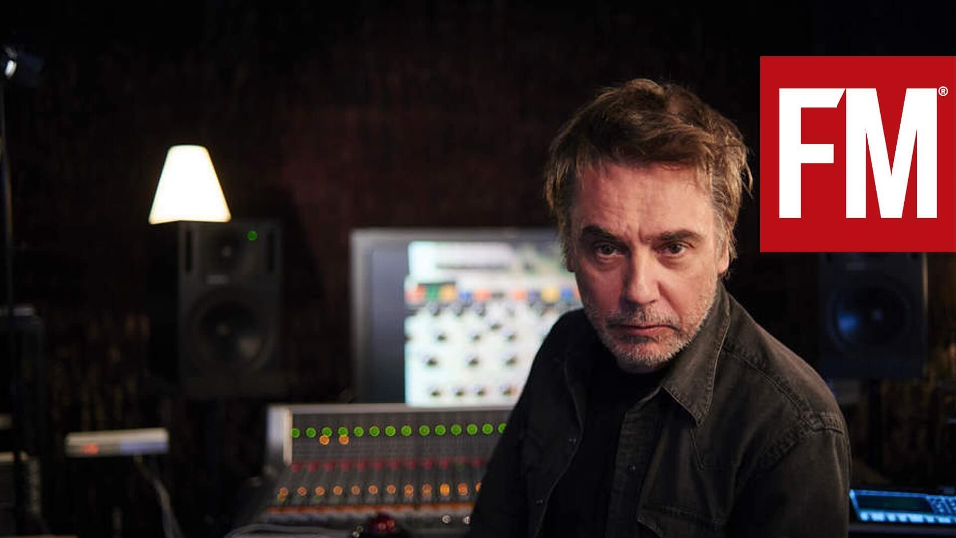 """Jean Michel Jarre """"Inside the studio"""""""