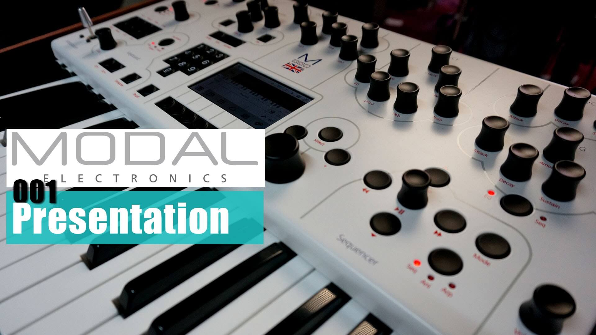 Modal Electronics 001 Duophonic Synth