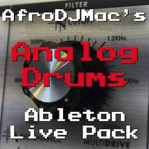 Analog Drums Ableton Live Pack
