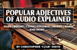 Popular Adjectives of Audio  copy