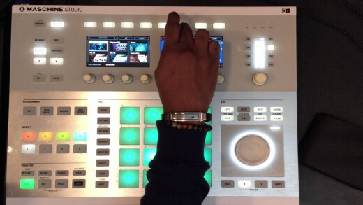 Using the Molekular and Prism FX in Maschine