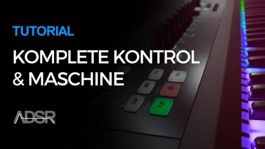 Control Maschine software with Komplete Kontrol – 01