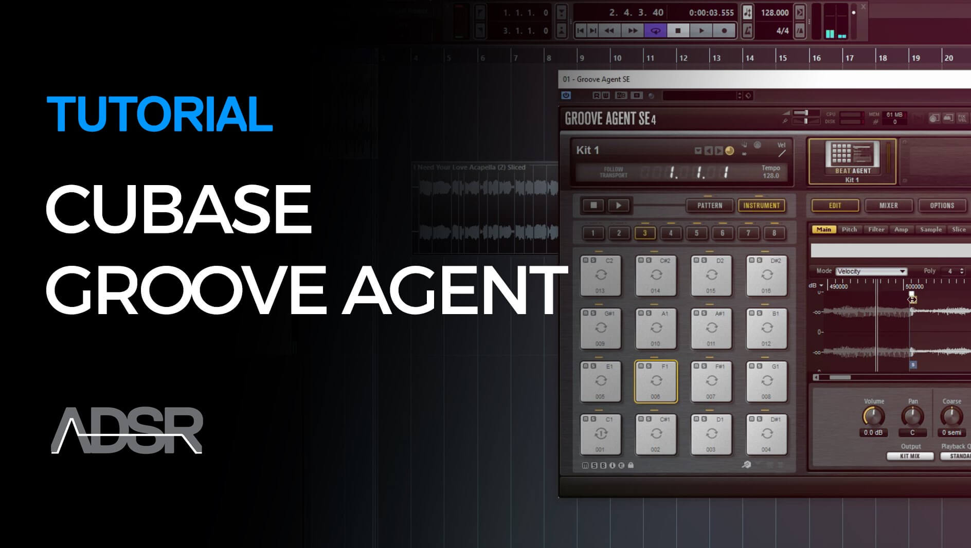 Easy Vocal Remixing in 5 Mins with Cubase Groove Agent