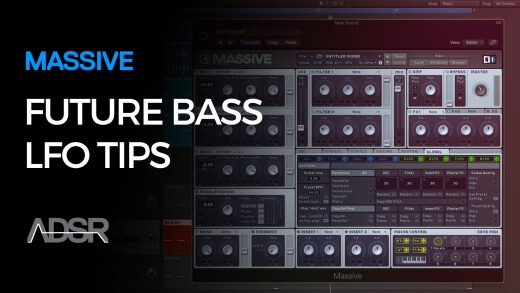 Future Bass LFO Pro Tip in Massive