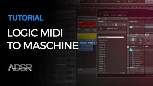 Logic Pro X MIDI to Maschine