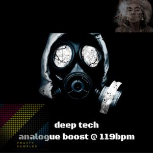 Deep Tech Analogue Boost - Artwork