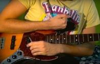 Stringless Bass Guitar Performance