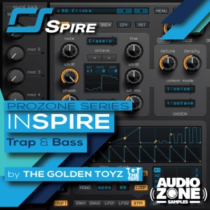 InSPIRE Trap n Bass by TGT - Artwork