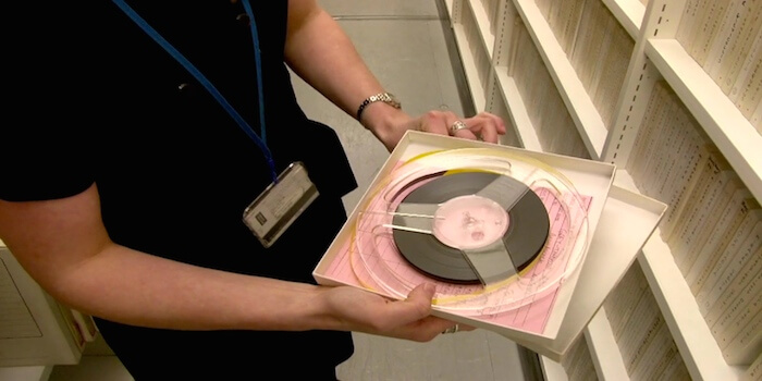 Tour Through The British Sound Library Archive