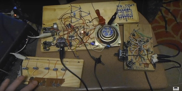 DIY Modular Synth From Scrap Materials