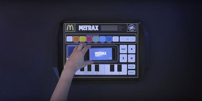McTrax: Playable McDonald's Placemat