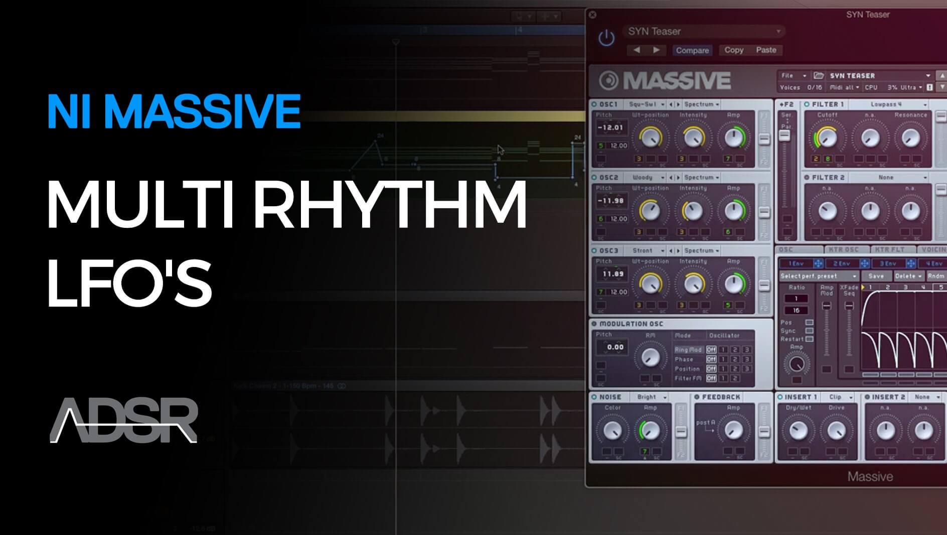 Multi Rhythm LFO's in Massive