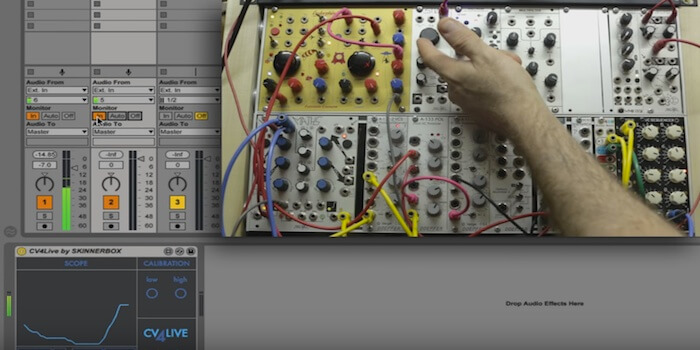 Using A Modular Synth To Control Ableton Live