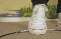 This Converse Shoe Has A Built In Wah Pedal