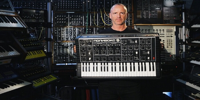 Sound Demo Of Polivoks Russian Synthesizer