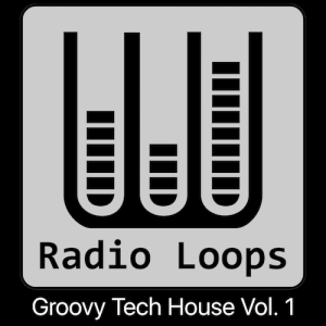 Groovy Tech House Vol 1 - Artwork