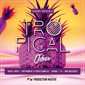 Production Master - Tropical Vibes - ARTWORK